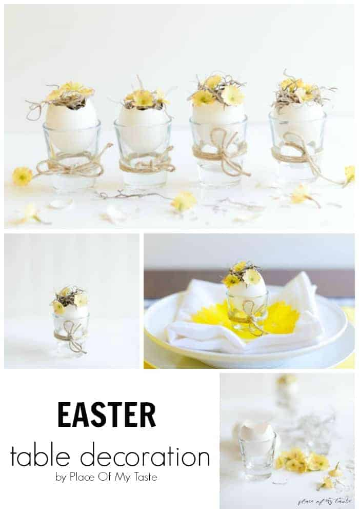 Decoration Easter Homemade Table 118