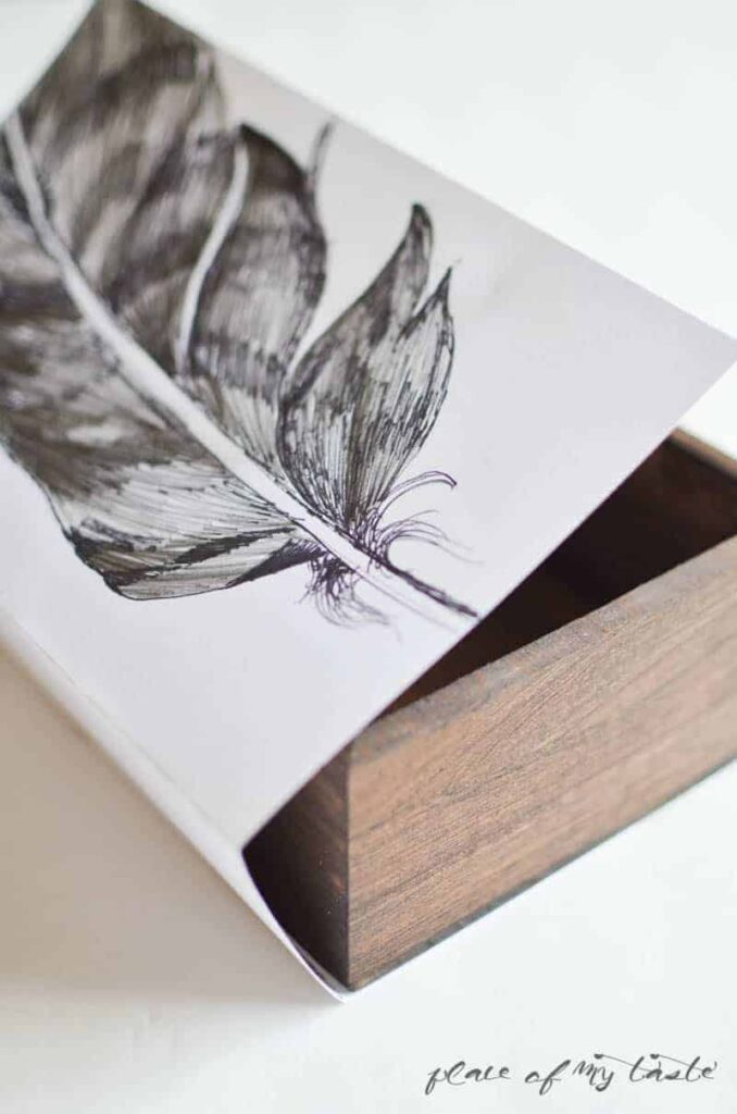 Jewelry Slide Box ( West Elm Knock Off) by Place Of My Taste (8)