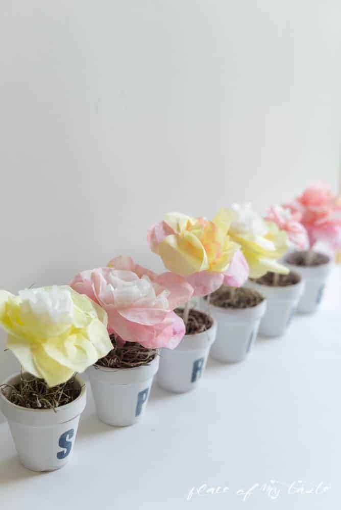 Paper Flower Pots by Place Of My Taste (18 of 22)