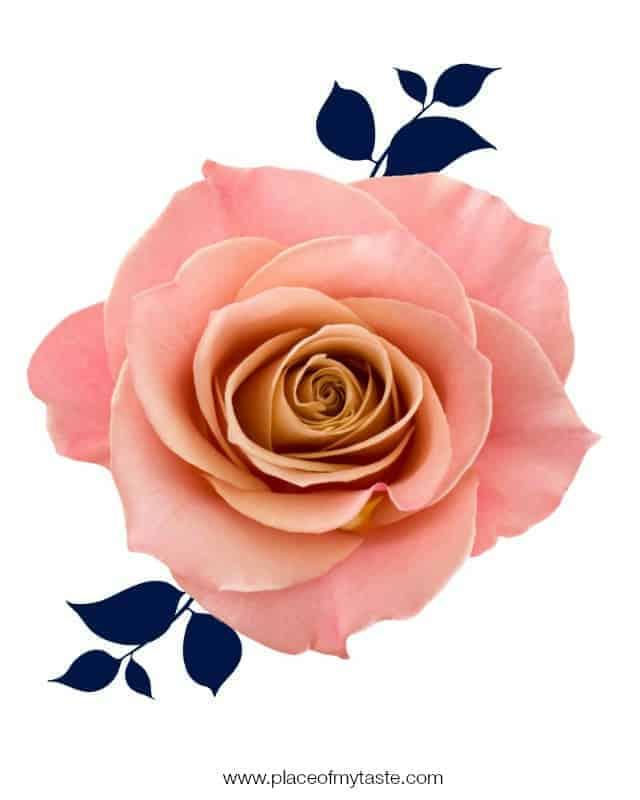 Rose Printable