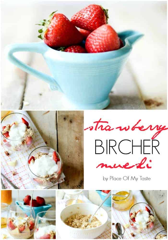 Strawberry Bircher Muesli  Place of My Taste
