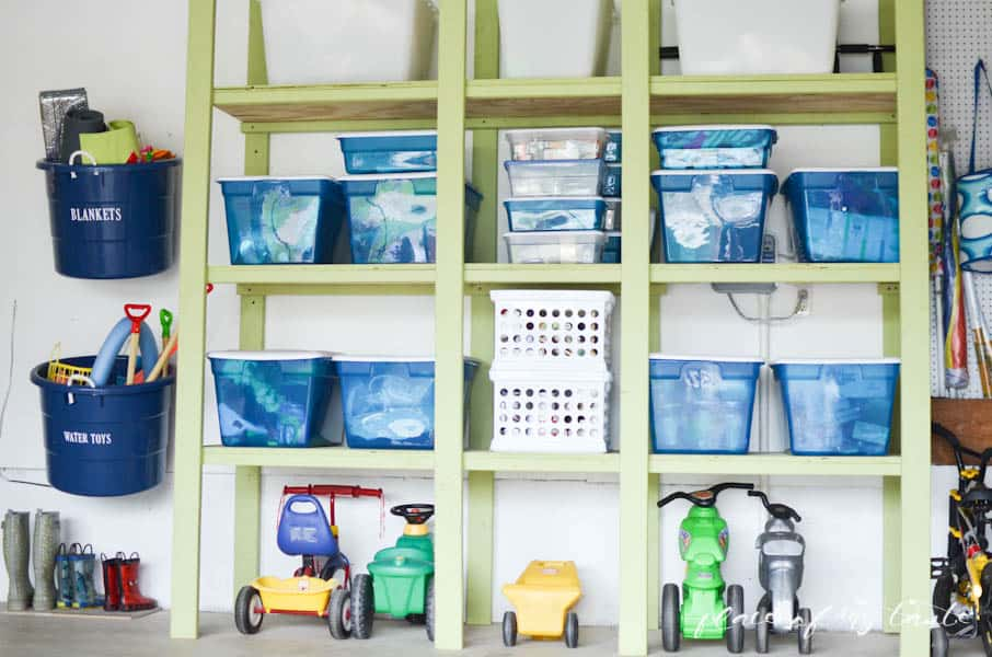 your tidy garage organized to into whip tips shape blog