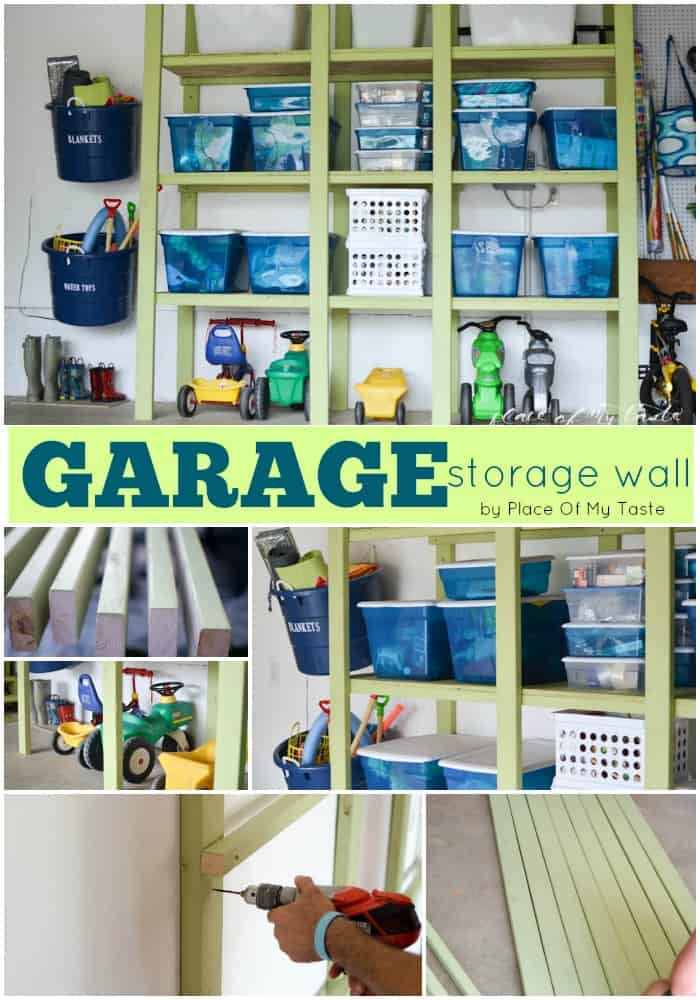 GARAGE STORAGE WALL – BUILD IT YOURSELF