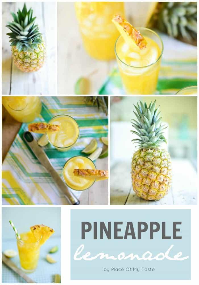 Pineapple Lemonade by Place of My Taste for The 36th Avenue