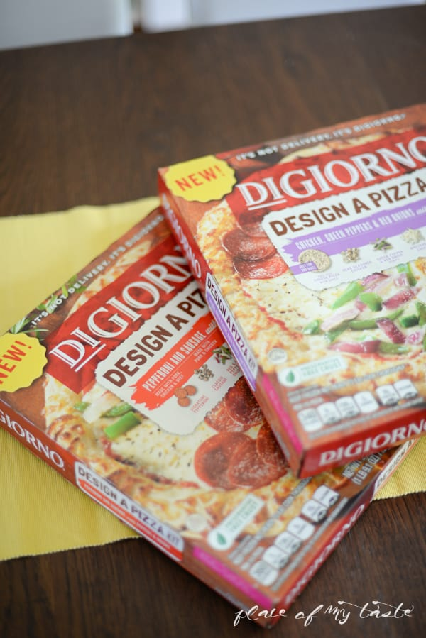 Design a Pizza with DiGiorno