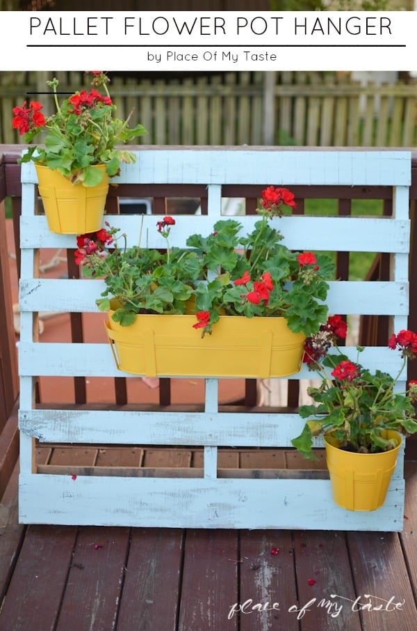 Pallet Flower pot hanger (7 of 23)