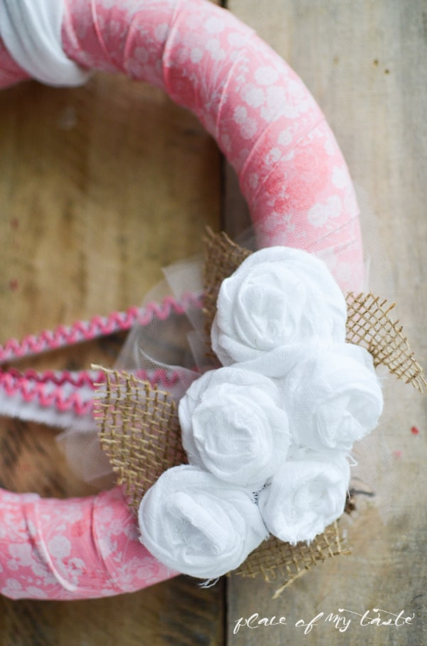 Pretty pink wreath for the summer by Place of My Taste (11 of 21)