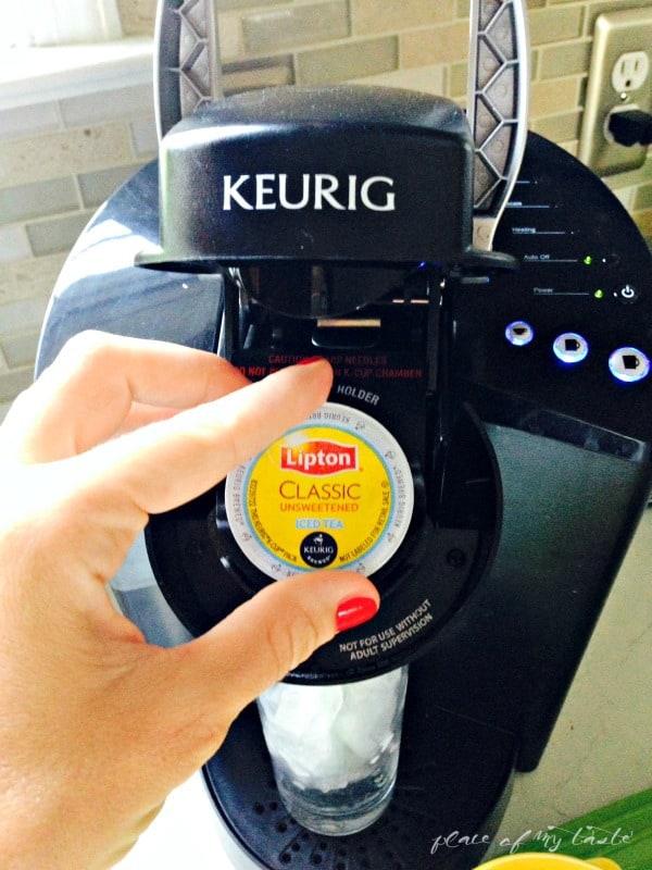 Keurig - Lipton Iced Tea #pmedia #bemoretea #ad