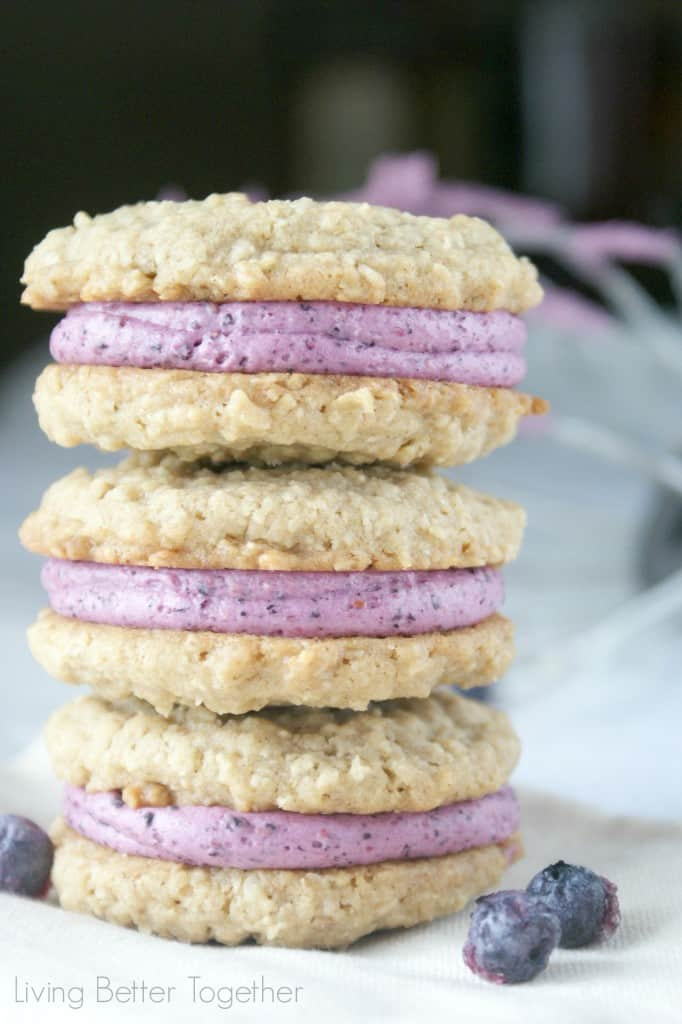 Blueberry Bliss Cream Pies