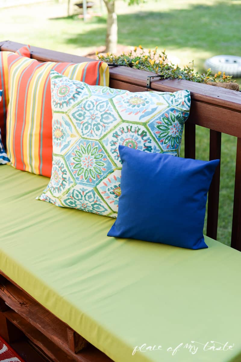 Colorful SEW pillow COVERS- www.placeofmytaste.com