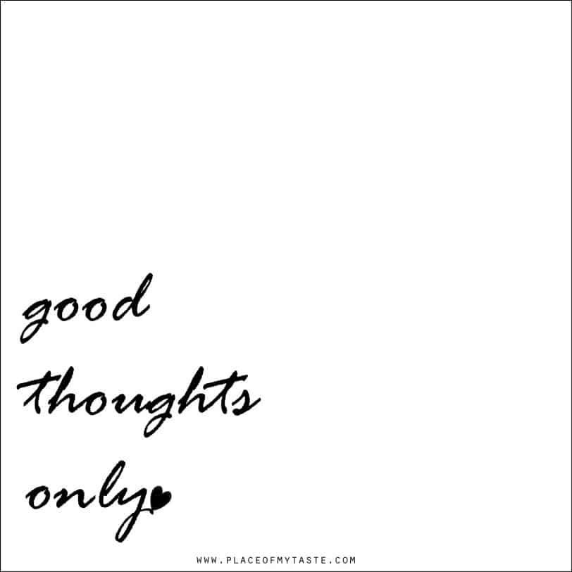 Good thoughts only-web
