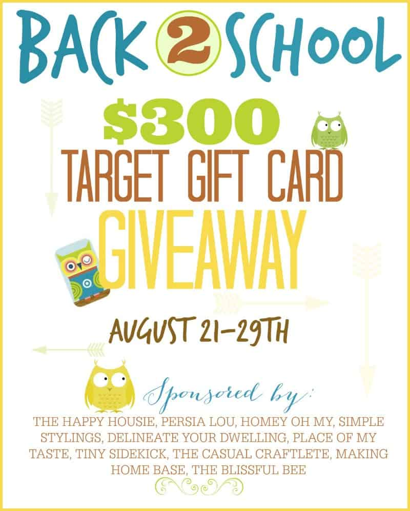 300 TARGET GIFT CARD GIVEAWAY