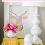 DIY Deer Trophy Wall Art  Place Of My Taste