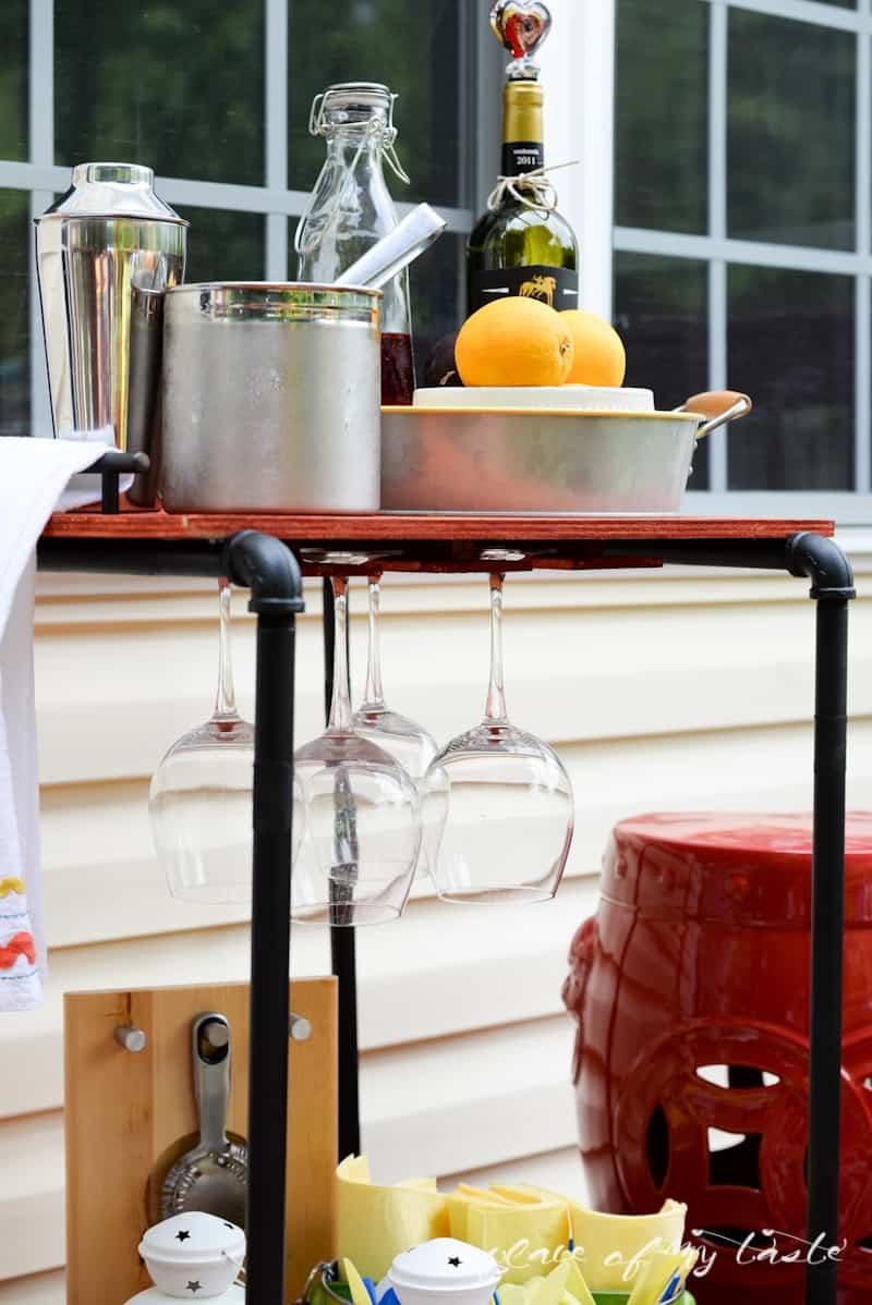 DIY Industrial pipe bar station - Place Of My Taste -3485