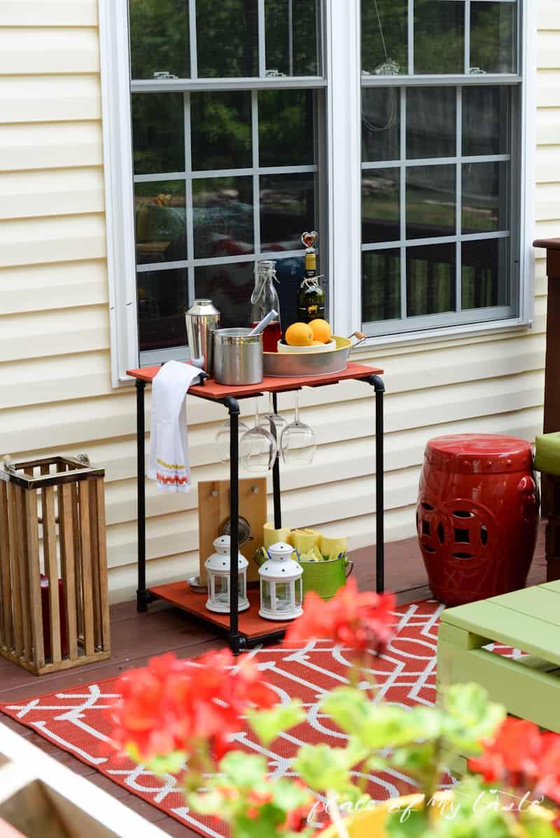 DIY Industrial pipe bar station - Place Of My Taste -3516