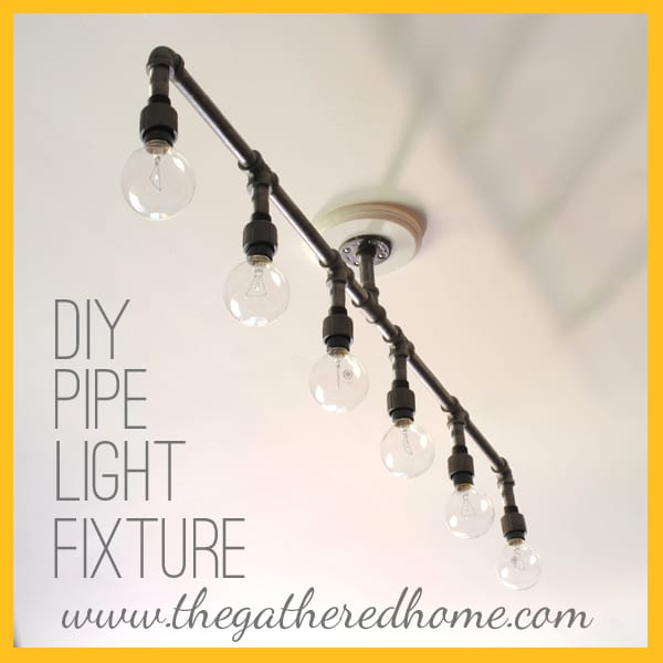 DIY Plumbing Pipe Light Fixture - Copy