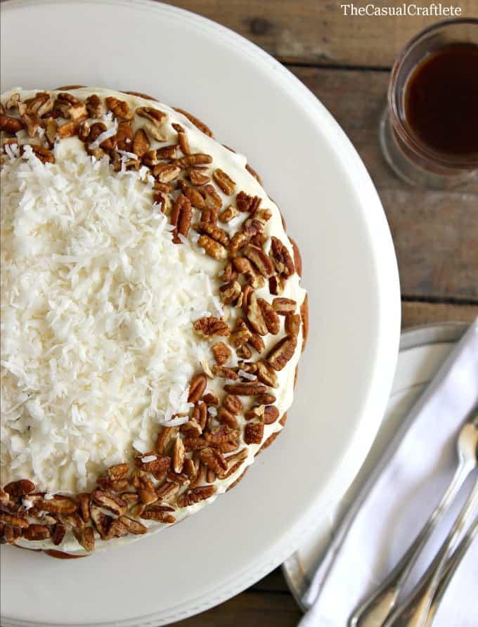 Italian-Cream-Cake-Recipe-TheCasualCraftlete