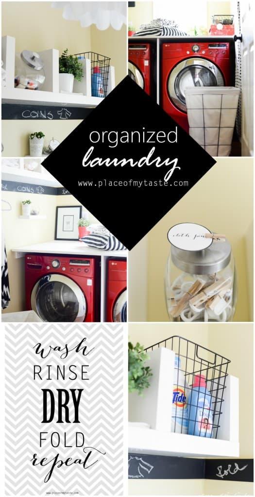 Organized Laudry