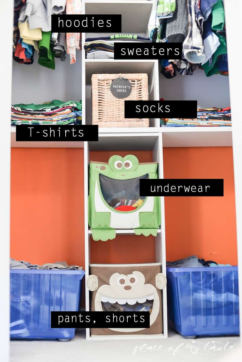 Organizing- Kids Closet- Place Of My Taste -