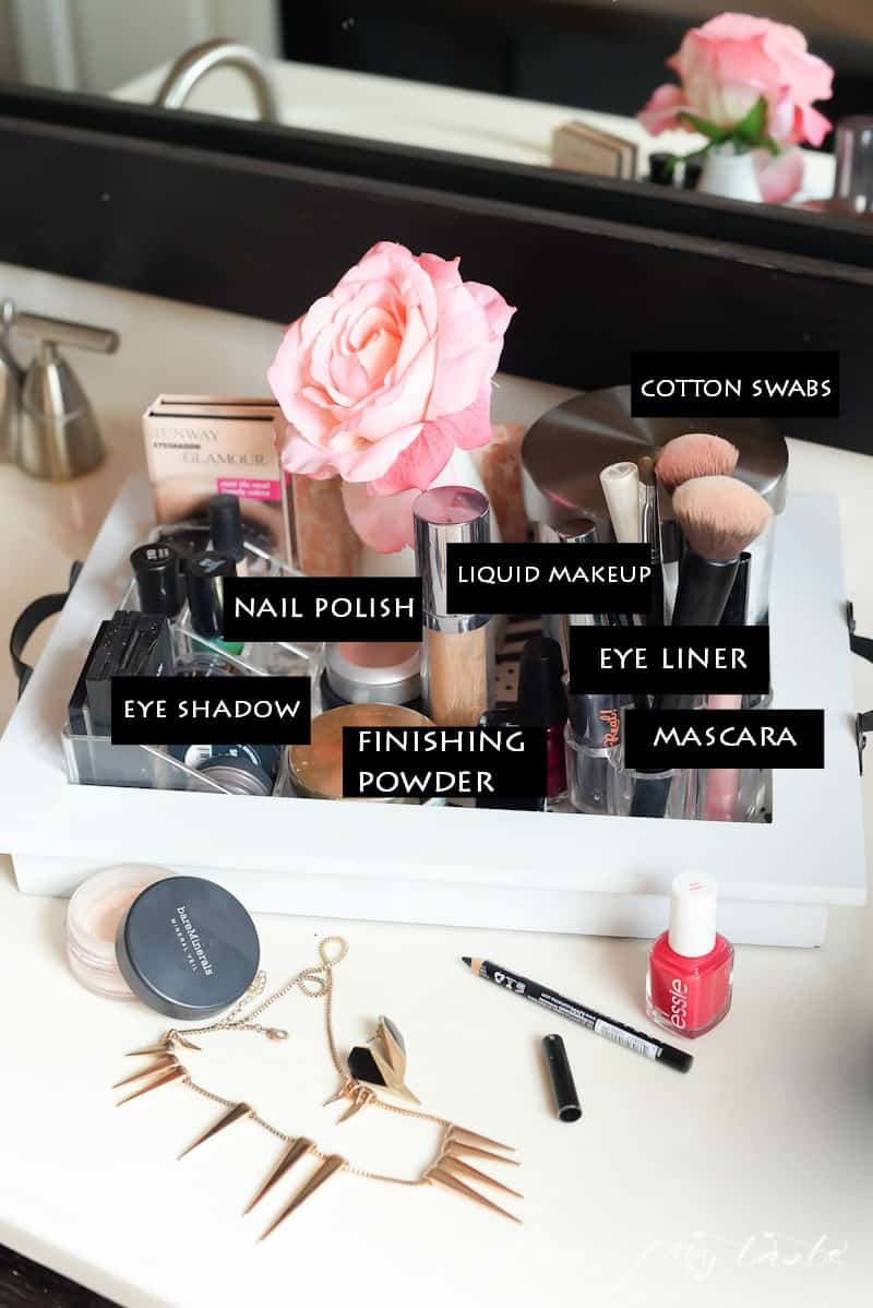 Organizing- Makeup Station- Place Of My Taste -