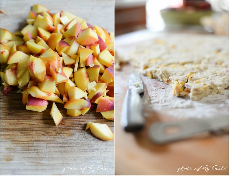 Peach Scone |Place Of My Taste