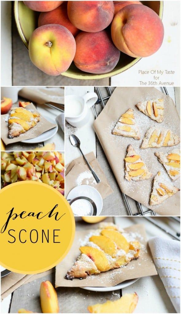 Peach Scone