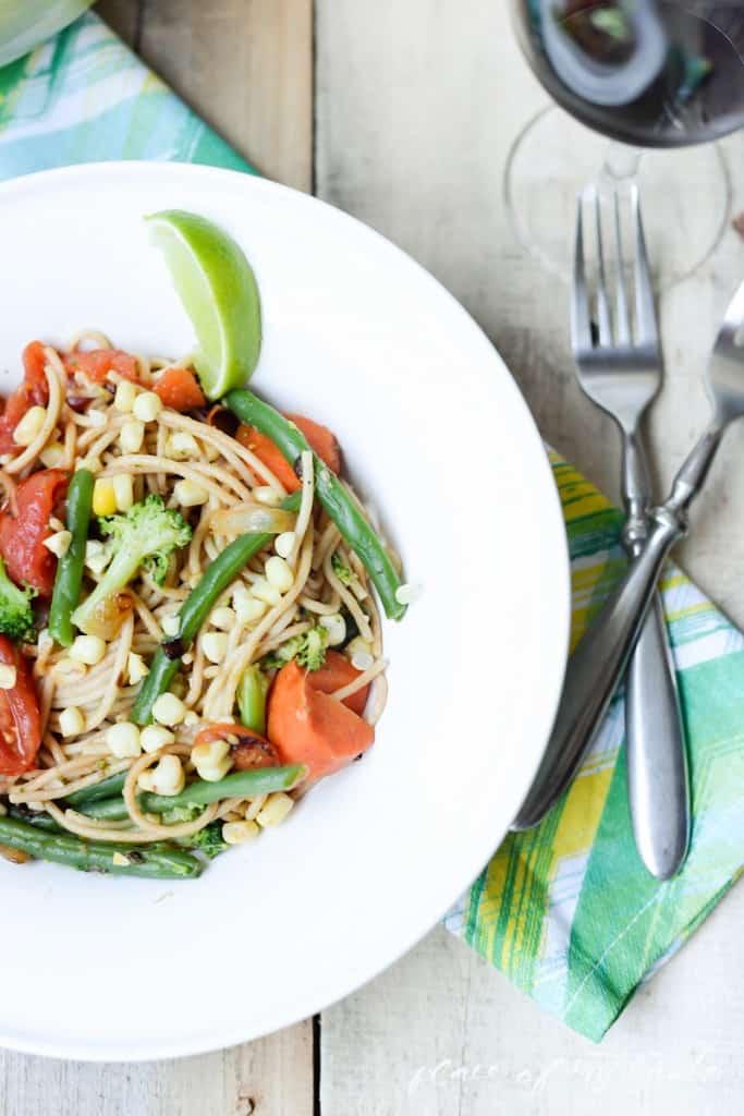 Summer veggie spaghetti  - www.placefomytaste.com-3925