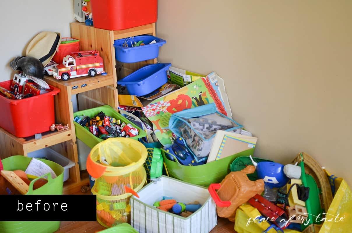 Toys Organanizing - www.placeofmytaste.com