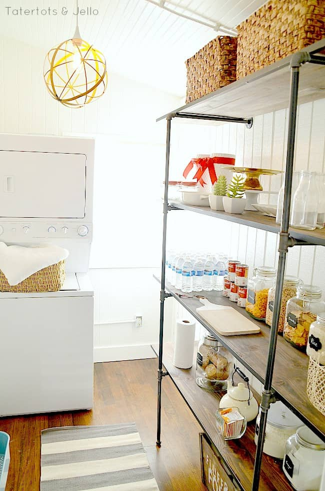 industrial-shelves-in-the-pantry-DIY
