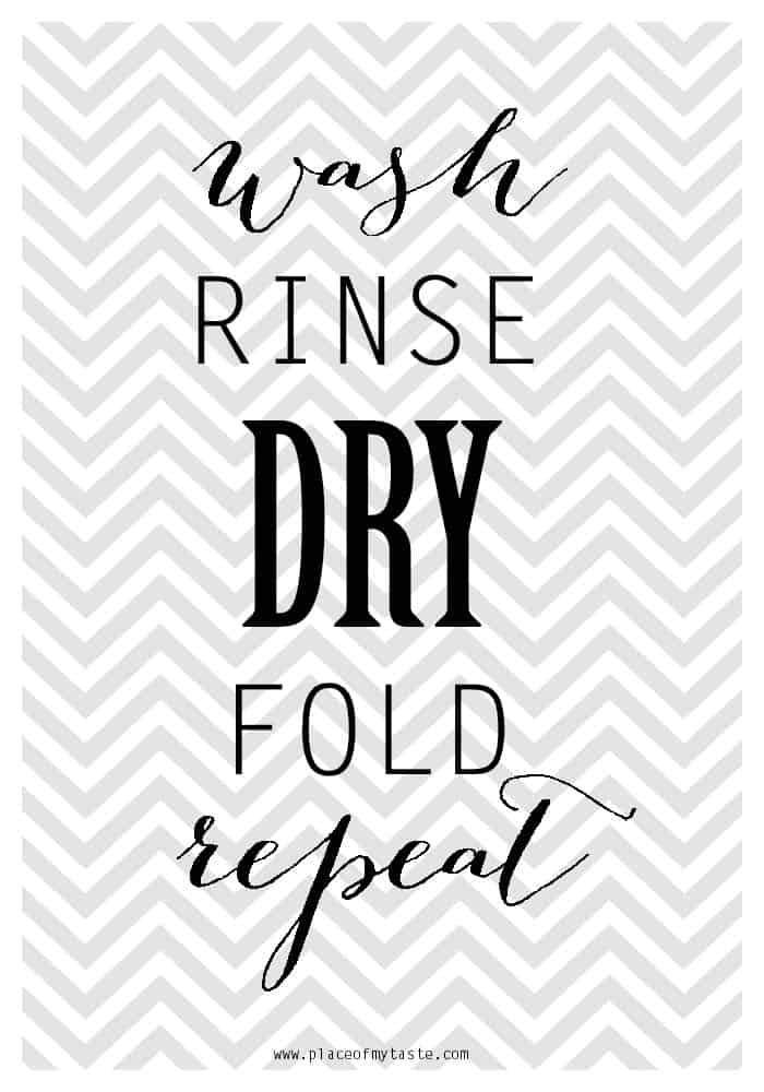 Free Vintage Laundry Room Printables Words And Lettering