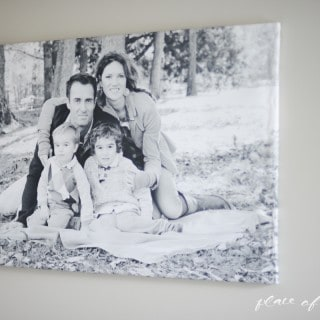 $5 huge DIY picture canvas-5301