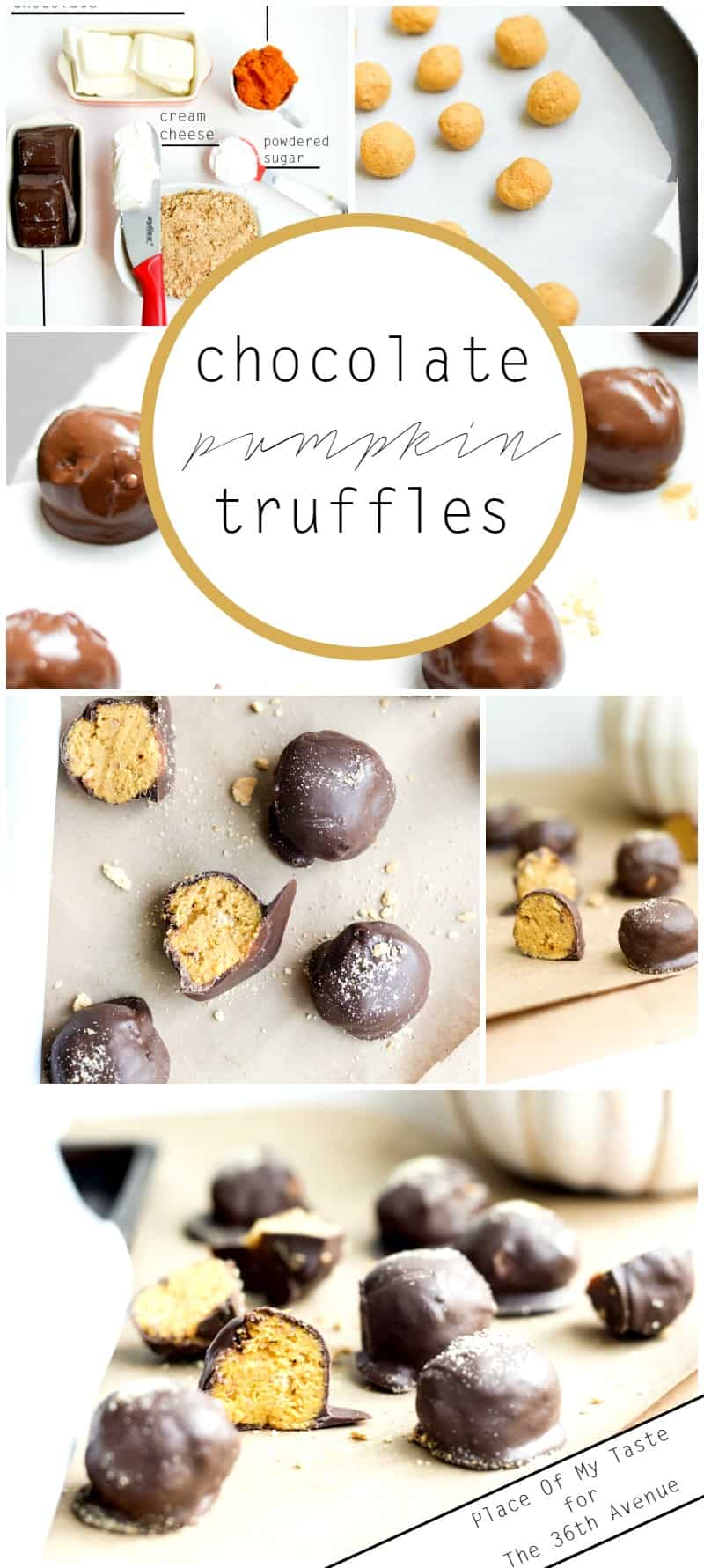 Chocolate Pumpkin Truffles - Place Of My Taste for The 36th Avenue