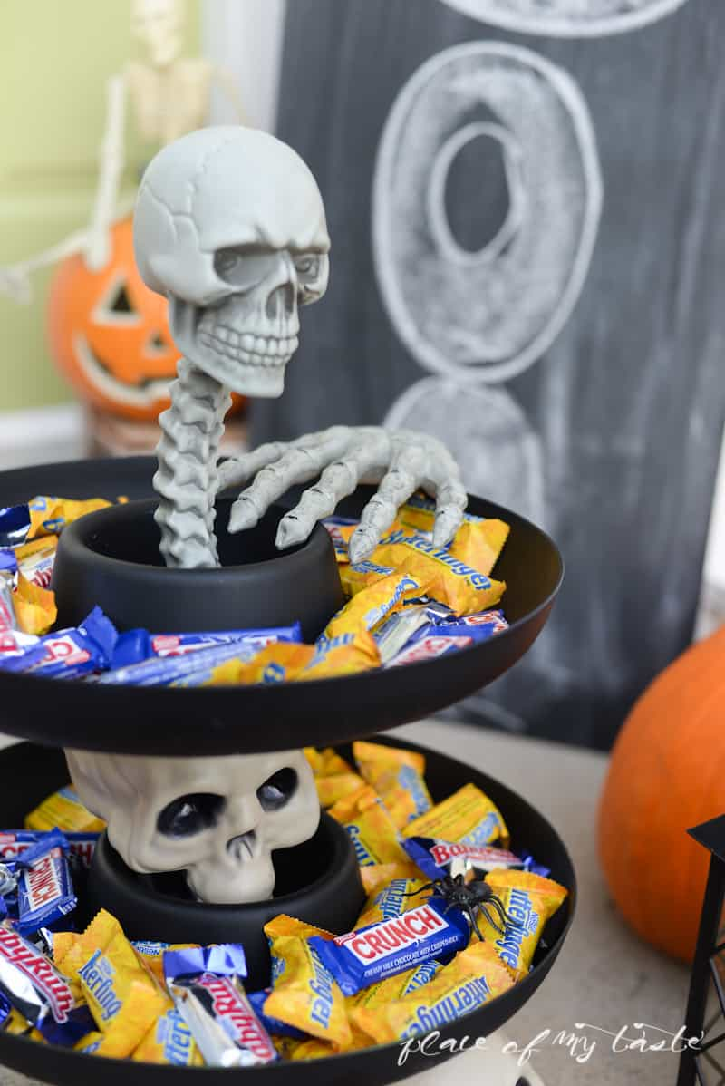 Halloween Candy Bowl- Place Of My Taste  #Treats4All #shop-6391