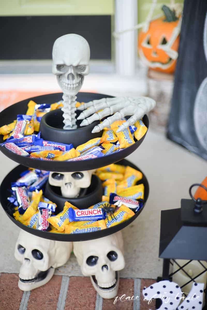 Halloween Candy Bowl- Place Of My Taste #Treats4All #shop-6426