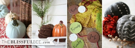 The Blissful Bee Fall Projects