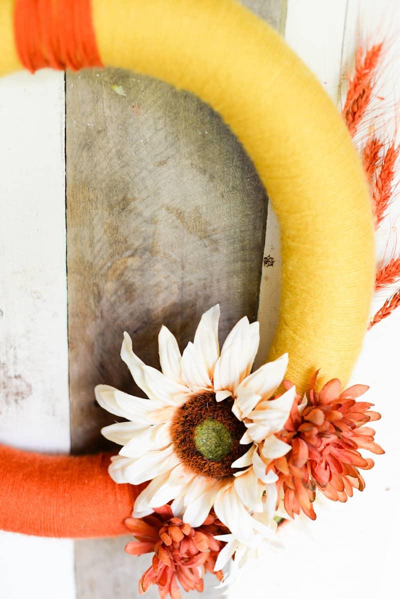 Yarn Fall Wreath - www.placeofmytaste.com-4939