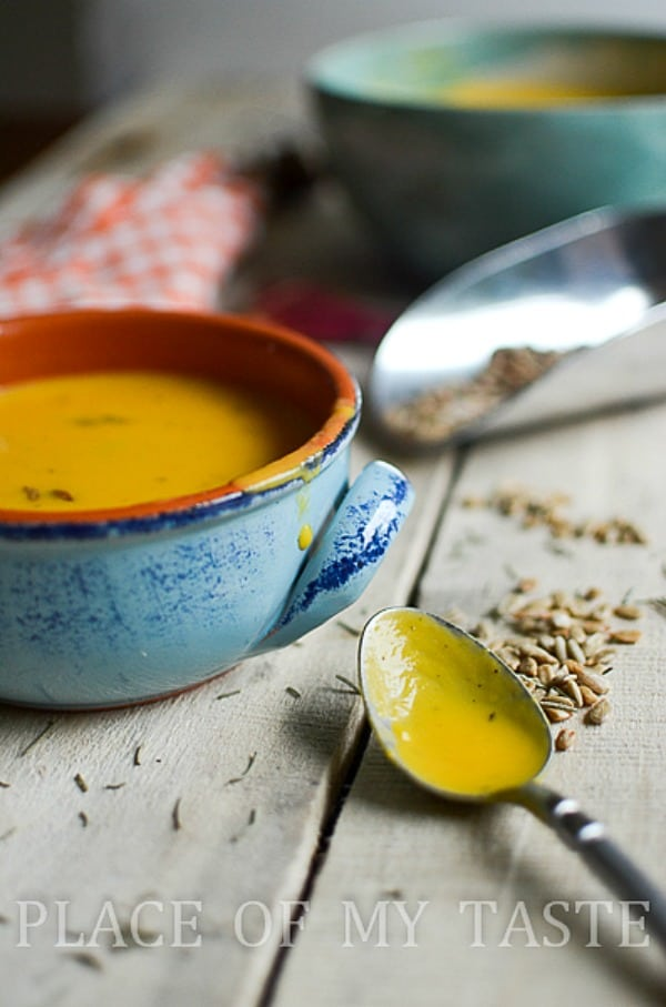 Butternut Squash Soup 2 -Placeofmytaste.com