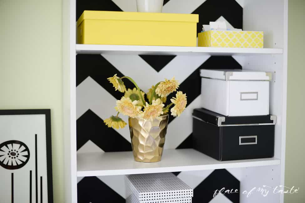DIY pegboard organizer-gold and white-Placeofmytaste.com-11