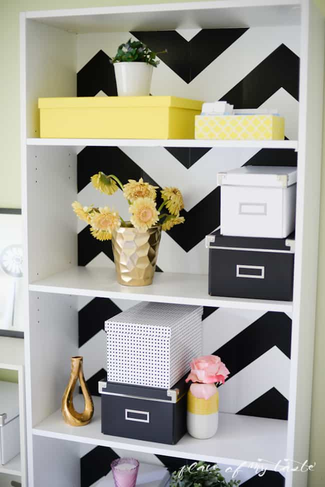 DIY pegboard organizer-gold and white-Placeofmytaste.com-13