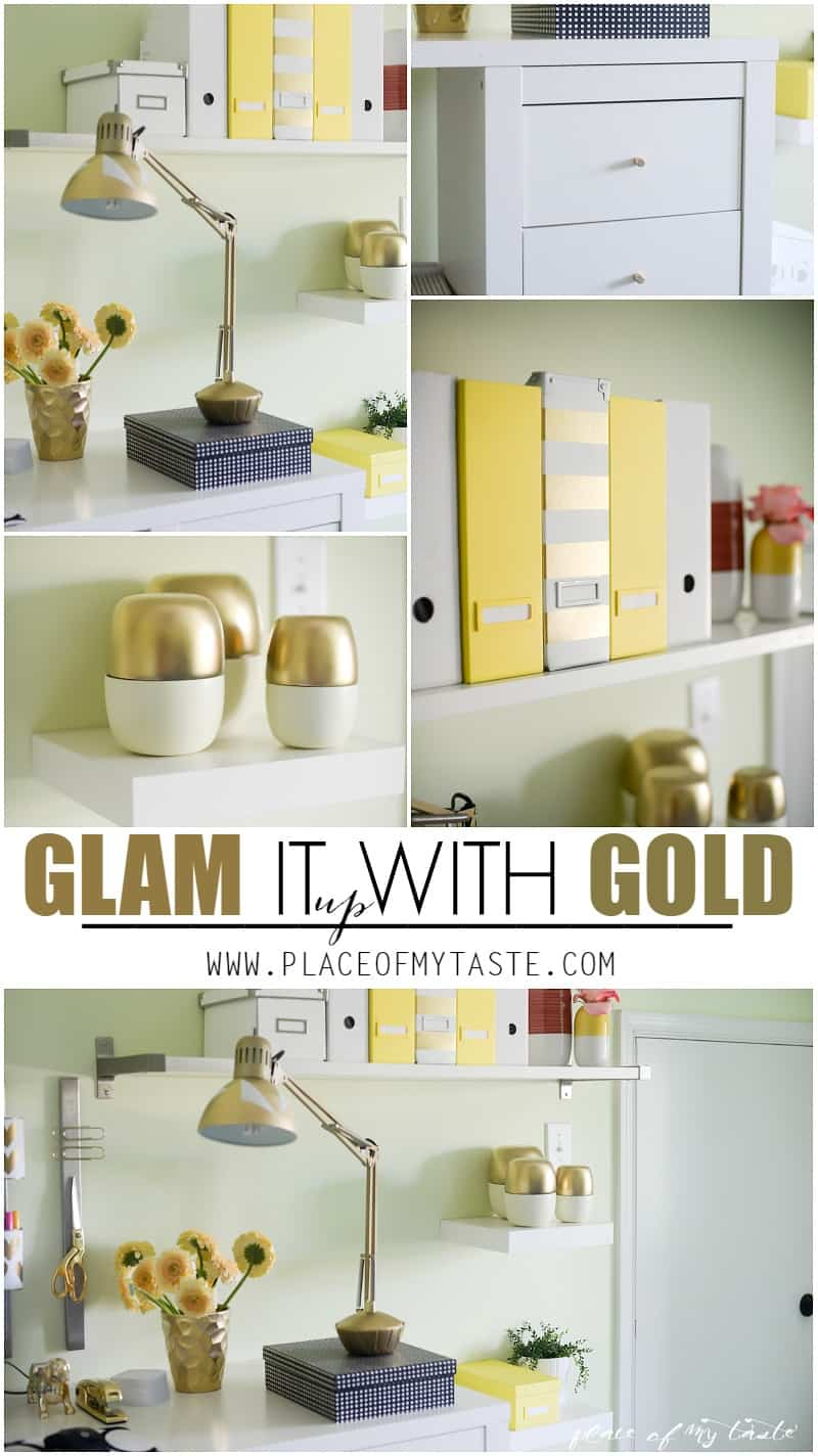 Glam it Up with Gold Placeofmytaste.com