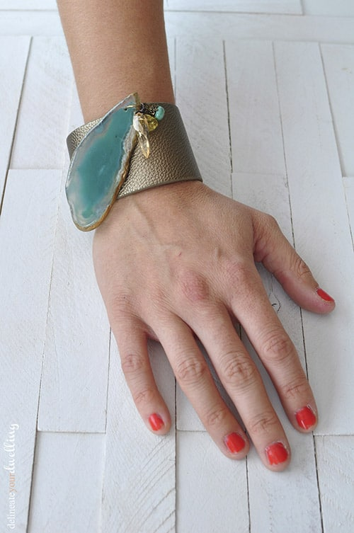 leather cuff, Delineateyourdwelling.com