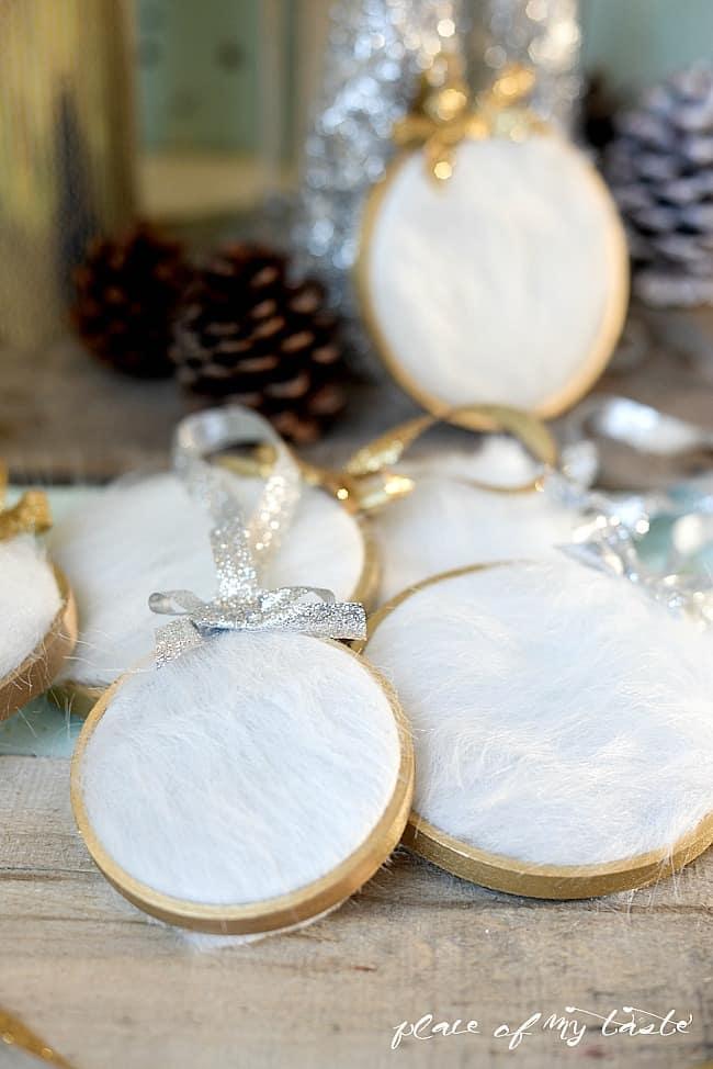 DIY fur Christmas Ornament-5