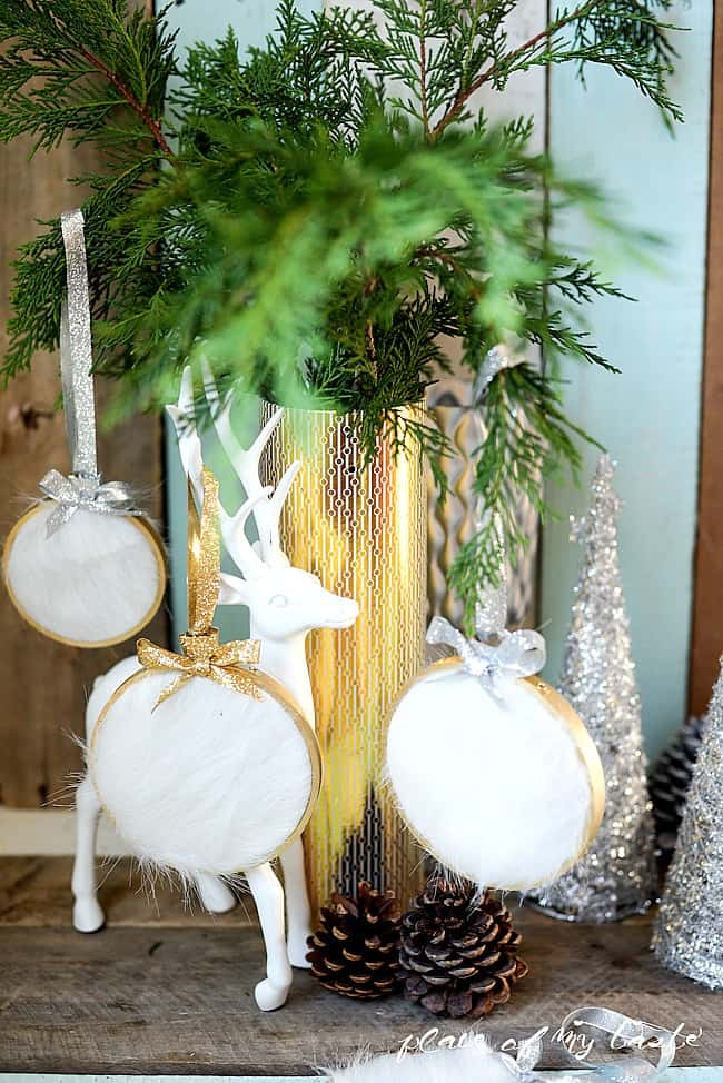 DIY fur Christmas Ornament-7