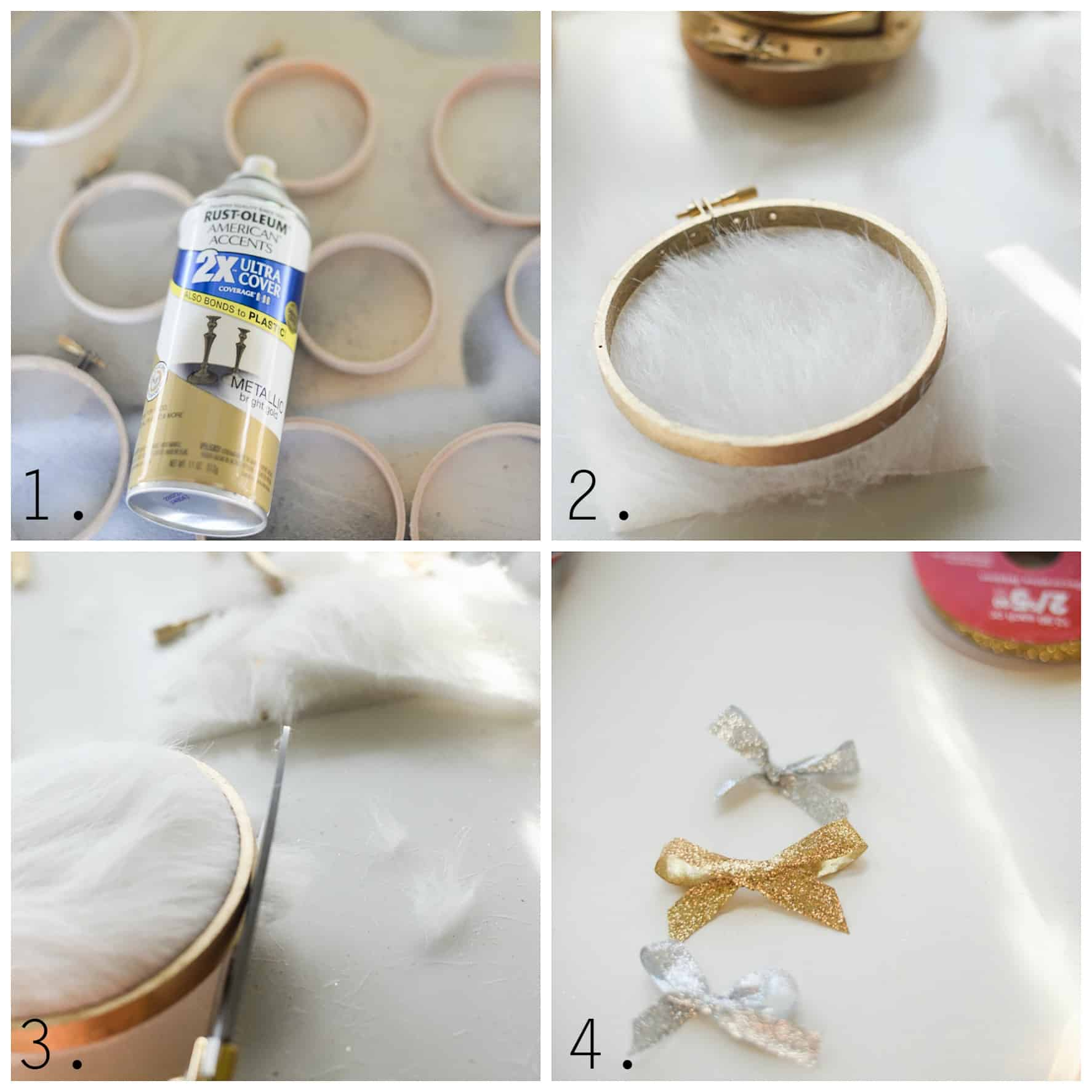 DIY fur Christmas ornament...