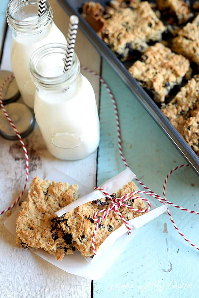 OATMEAL RAISIN SNACK BARS