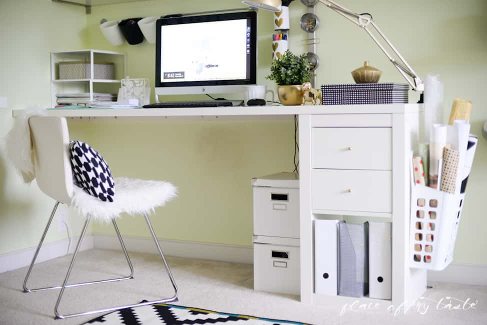 Office-Craft Room makeover - Placeofmytaste.com-13