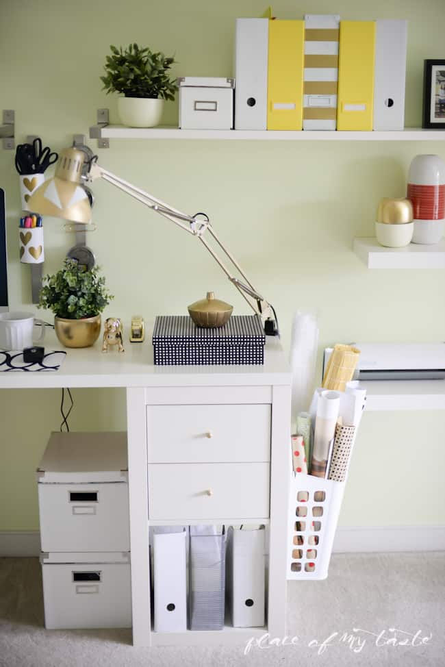 Office-Craft Room makeover - Placeofmytaste.com-14