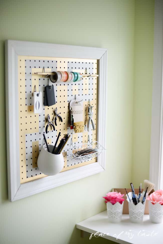 Office-Craft Room makeover - Placeofmytaste.com-17