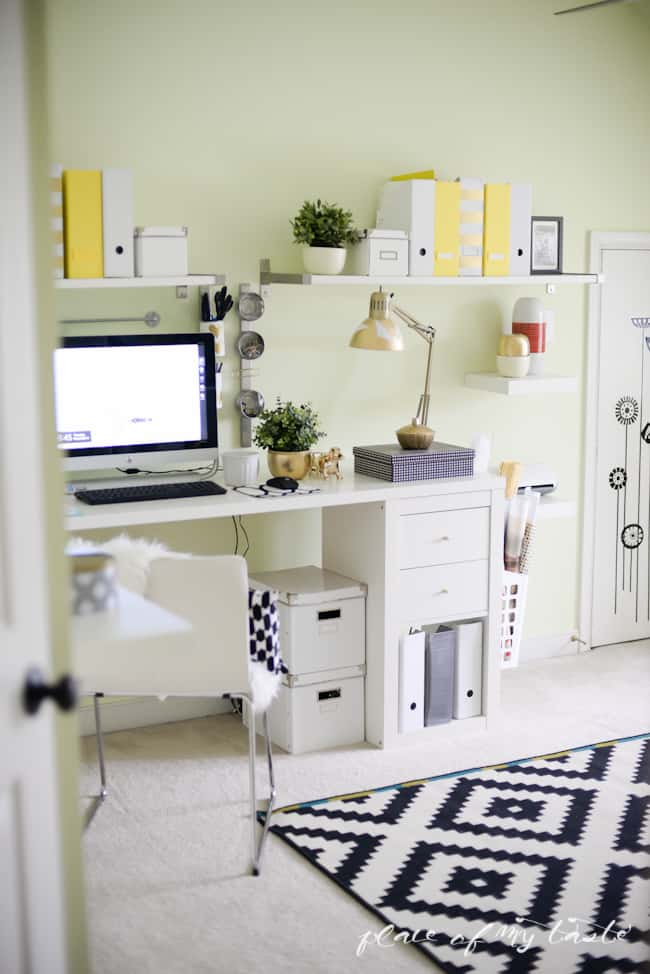 Office-Craft Room makeover - Placeofmytaste.com-37