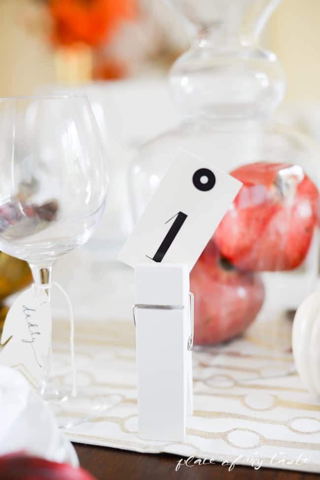 Thanksgiving Tablescape - Placeofmytaste.com